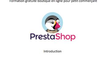 boutique en ligne avec prestashop